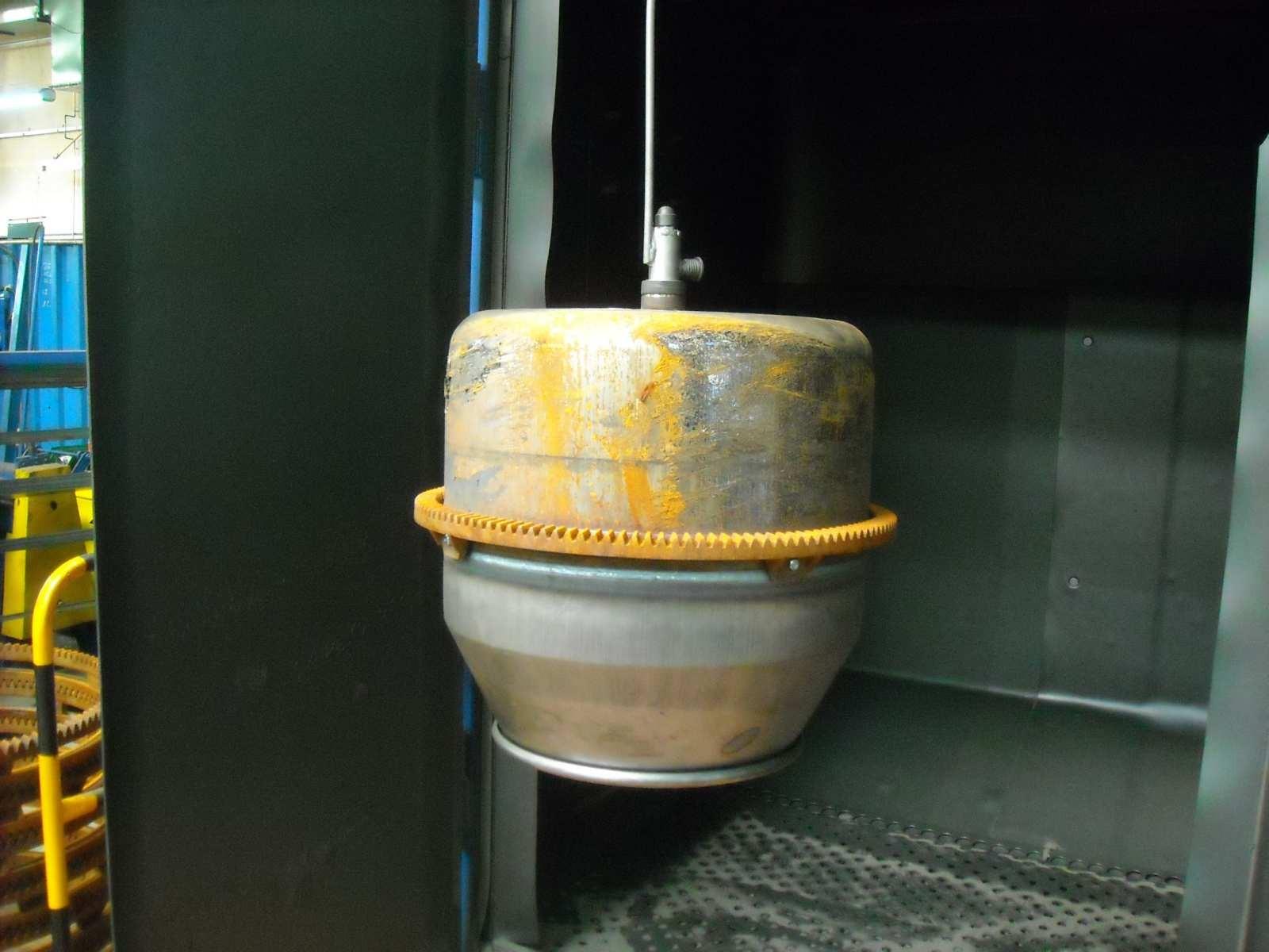 betoniarka przed śrutowaniem